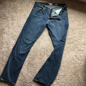 Dark wash denizen jeans 218
